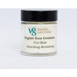 Organic Rose Geranium Foot Balm 120ml