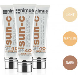 Nimue Tinted Sun C SPF 40 Sunscreen Protection Pack of 3
