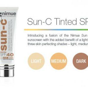 Nimue Tinted Sun C SPF 40 Sunscreen Protection