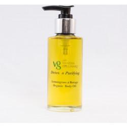 Detox – Purifying  Lemongrass Borage Organic Body Oil 100 ml