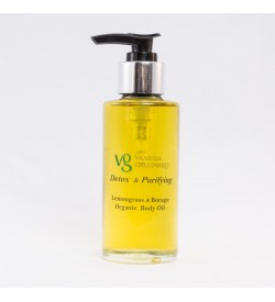 Detox – Purifying Lemongrass Borage Organic Body Oil
