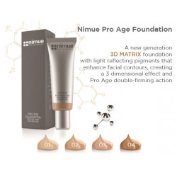 Nimue Pro Age Foundation 30ml, double firming action - 1
