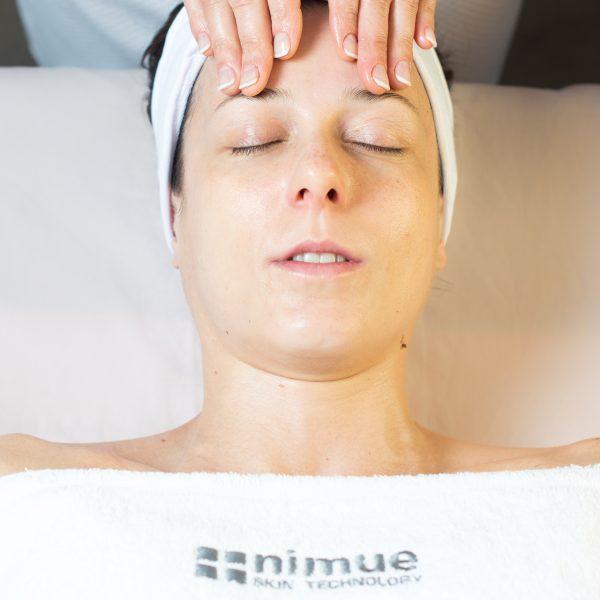 Manual Lymphatic Drainage facial massage