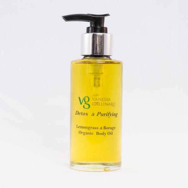 Detox – Purifying Lemongrass Borage Organic Body Oil