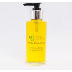 Aware your senses – Jasmine & Jojoba Organic Body Oil 100 ml