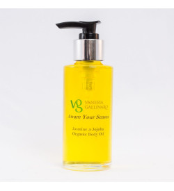 Aware your senses – Jasmine & Jojoba Organic Body Oil