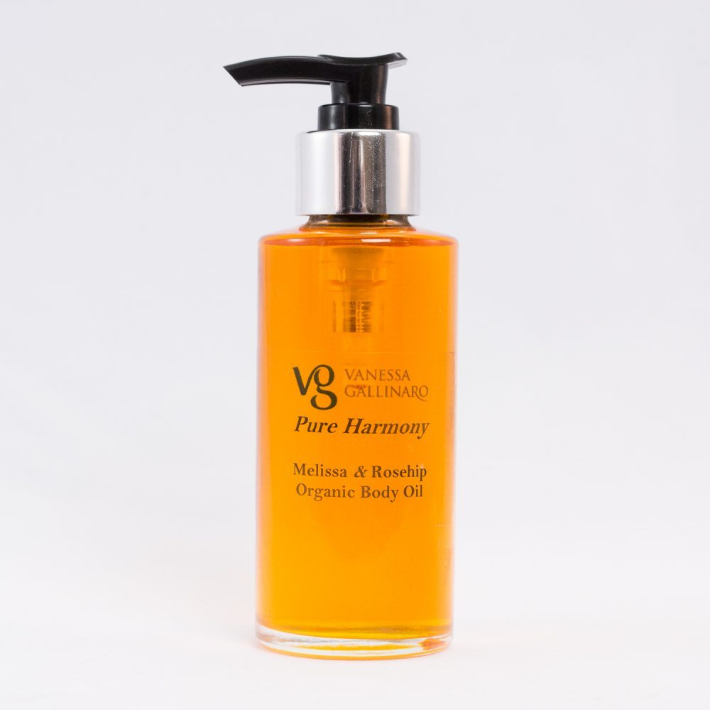 Pure Harmony The ultimate secret-Melissa Rosehip Organic Body Oil