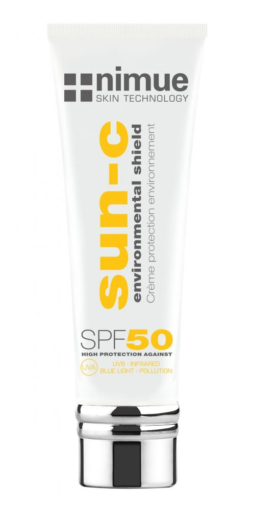 Nimue SPF 50 Environmental Shield London against UV UVB Infrared A